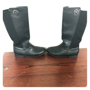 Micheal Kors black leather boots